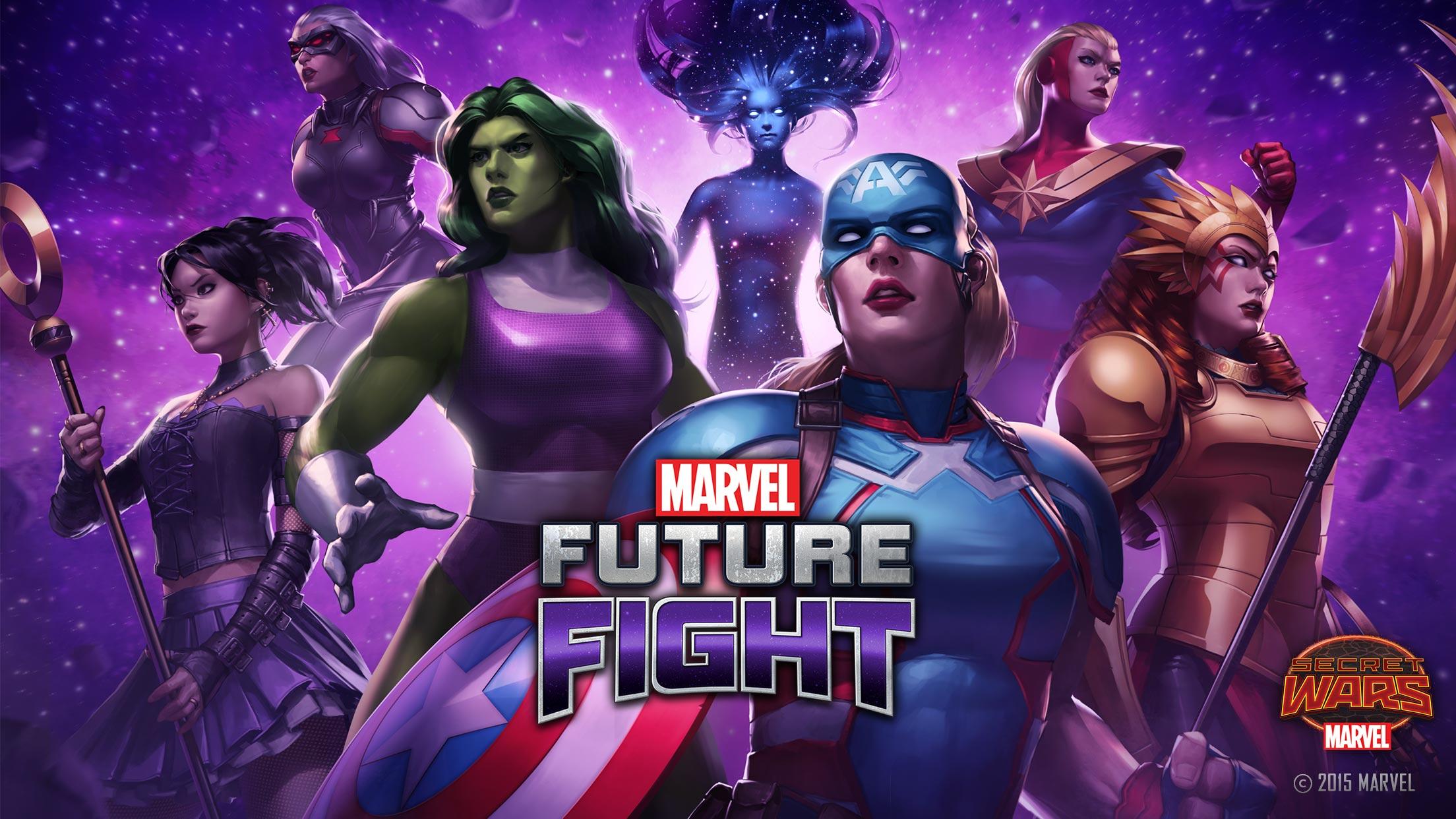 เกมมือถือ MARVEL Future Fight