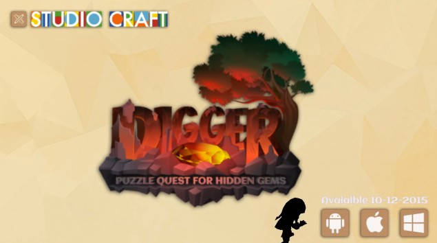 Digger - A Puzzle Quest for Hidden Gems4