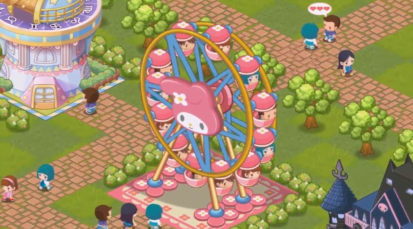Hello Kitty Kirakira Land 1