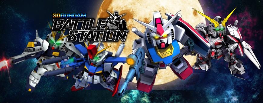 รูปภาพเกมมือถือ SD Gundam Battle Station