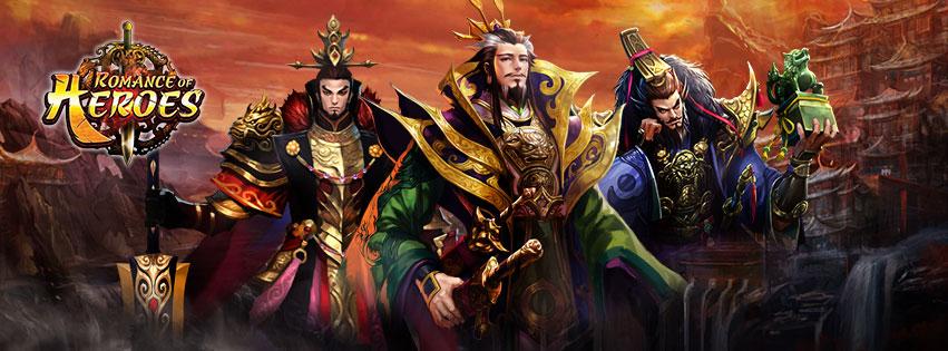 รูปภาพเกมมือถือ Romance of Heroes