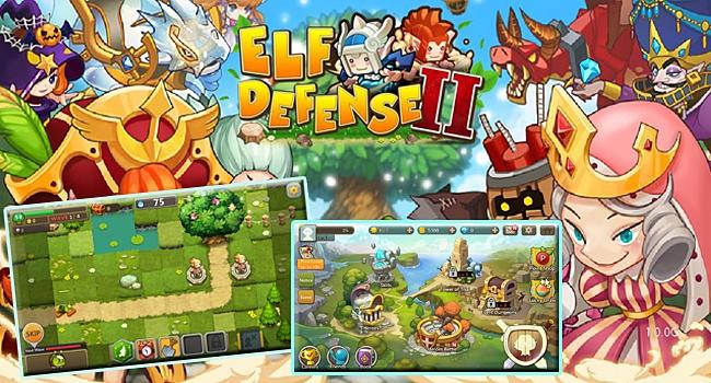 รูปภาพเกมมือถือ ELF DEFENSE II