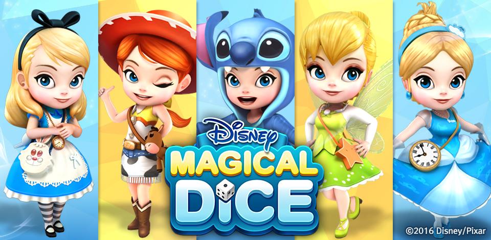 รูปภาพเกมมือถือ Disney Magical Dice