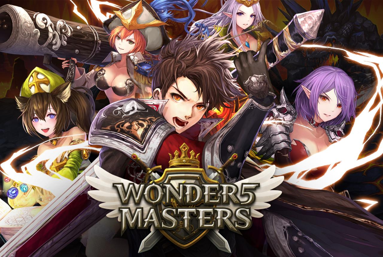 Wonder5 Masters_Cover