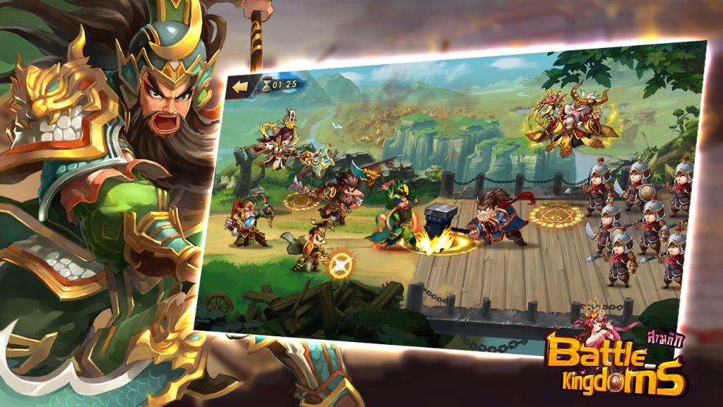 เกมการ์ดสามก๊ก Battle Kingdoms เปิดไฟเขียวให้ลุยแล้วทั้ง 2 สโตร์ - AppGamer